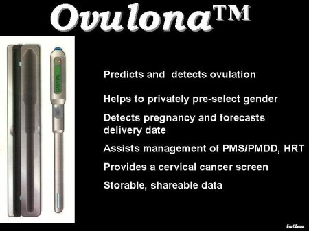 The Ovulona personal fertility status self-diagnosis device