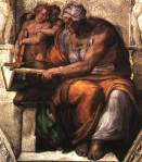Michelangelo's Sybille deCummes