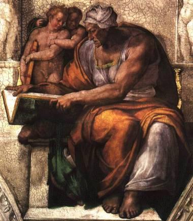 Michelangelo's Sybille de Cummes