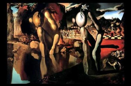 Salvador Dali - Metamorphosis of Narcissus