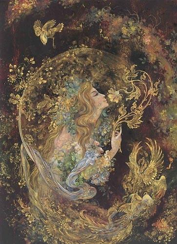 Peri or Paeri of Persian folklore and mythology