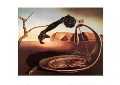 Sublime moment by Salvador Dali, 1938