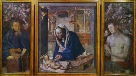 Albrecht Durer - The Dresden Altar. AD 1496