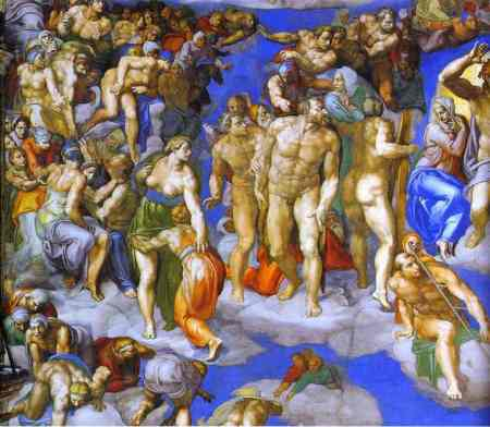 Michelangelo, The Last Judgment, 2