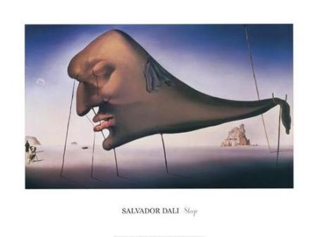 Sleep by Salvador Dali, 1937