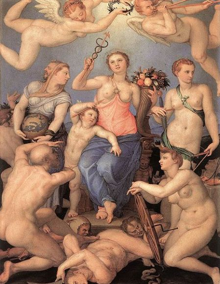 Angelo Bronzino - Allegory_of_Happiness, 1564