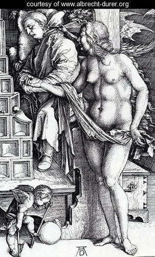 Durer, Albrecht - The Temptation Of The Idler (or The Dream Of The Doctor)