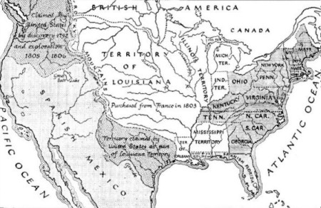 America in 1812, the time of Dr. Naegele's 200 years of fame