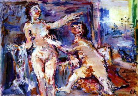 Oskar Kokoschka, Rejected lover, 1966