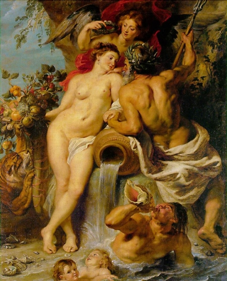 Peter Paul Rubens - The Union of Earth and Water, c. 1618