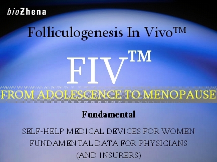 FOLLICULOGENESIS IN VIVO™ from adolescence to menopause