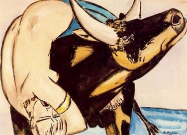 Max Beckmann, The rape of Europa (1933)