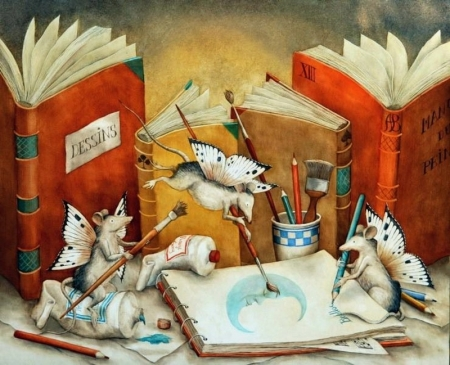 Agnes Boulloche - Dessins