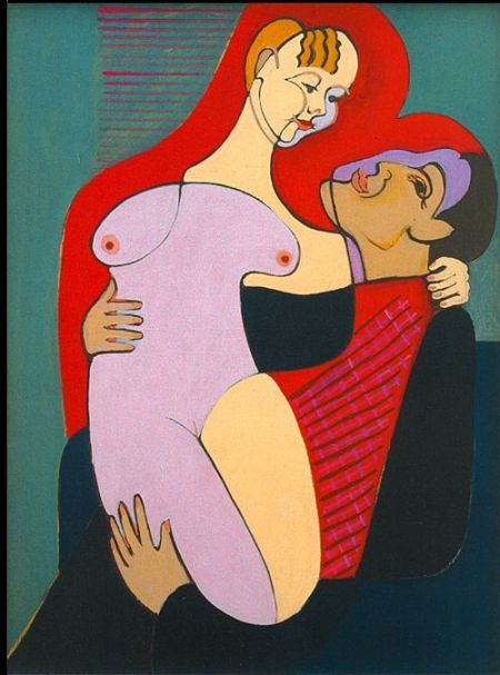 Lovers (Mr. and Mrs. Hembus) - Kirchner