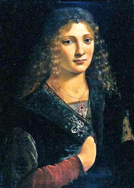 Anne Whateley by Giovanni Antonio Boltraffio