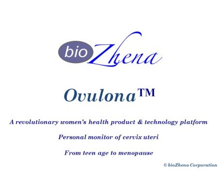 Ovulona™ slide 1 of 8 slide set